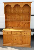 1960's Country Pine Dresser with Display Rack
