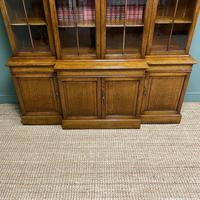 Super Quality Solid Oak Antique Library Bookcase (9 of 9)
