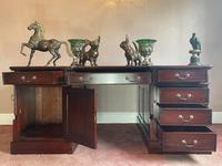Large Georgian Style Double Sided Partners Desk (25 of 51)