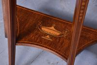 Outstanding Sheraton-style Demi-lune Hall Table (4 of 7)