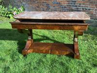 Burr Walnut Console Table (7 of 9)