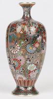 Oriental, Chinese / Japanese Exceptional Silver Metal Cloisonne Vase (22 of 25)