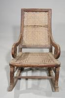 Early 20th Century Child's Canework Rocking Chair (3 of 3)