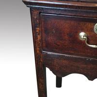 George III Country Oak Dresser Base (5 of 9)