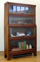 Handsome 1930s Barrister Solicitors Oak Bookcase (13 of 13)