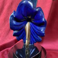 "Erte (romain De Tirtoff) Ltd Edition Bronze Sculpture ""Ecstasy"" 163/500 (10 of 16)"