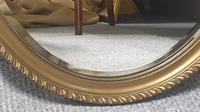 Edwardian  Oval Gilt Wall Mirror (3 of 5)