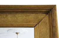 19th Century Overmantle Gilt Wall Mirror (4 of 8)