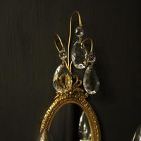 French Pair of Twin Arm Antique Girandoles (5 of 10)