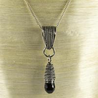Vintage 'Suarti' 925 Silver & Black Bead (2 of 2)