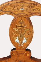 Victorian Inlaid Nursing Chair in Rosewood (5 of 6)