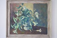 Mid Century Large Still Life Flowers by Bob Vigg (2 of 10)