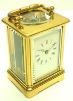 Fine Antique French 8-day Carriage Clock Timepiece - Interesting & Rare Size c.1870 (11 of 13)