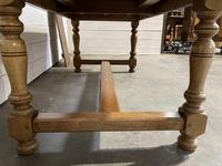 Oak Farmhouse Dining Table with Extensions (15 of 18)