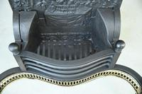 Antique Brass & Cast Iron Fire Basket (5 of 10)