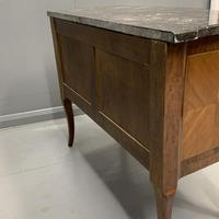 French 19th Century Marble Top Commode (11 of 11)