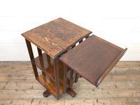 Early 20th Century Oak Revolving Bookcase (6 of 8)