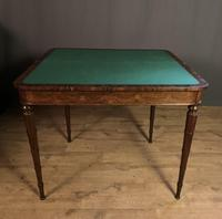 Superb French Rosewood Fold-over Top Card Table (13 of 14)