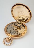 1930s Cyma Full Hunter Pocket Watch (5 of 6)