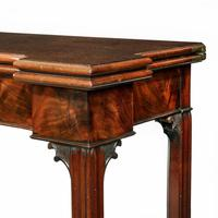 Very Fine Pair of George III Mahogany & Plum Pudding Mahogany Concertina Action Card Tables (3 of 17)