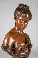 Superb Quality 19th Century French Bronze & Marble Sculpture by Eutrope Bouret (15 of 15)