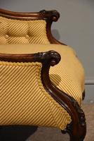 19th Century Carved Upholsterd Armchair (6 of 6)