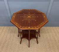 Edwards & Roberts Inlaid Mahogany Centre Table (6 of 15)
