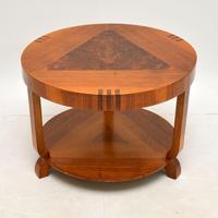 Art Deco Inlaid Walnut Coffee Table (2 of 9)