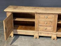 Large French Bleached Oak French Sideboard (19 of 24)