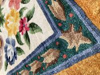 Vintage Chinese Silk Carpet 2.43m x 1.59m (8 of 11)