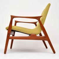 Pair of Danish Teak Armchairs by Arne  Hovmand-Olsen for Mogens Kold (12 of 14)