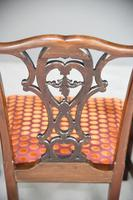 Set of 6 20th Century Mahogany Chippendale Style Dining Chair (13 of 13)