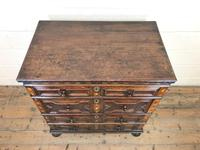 Antique Geometric Oak Chest of Drawers (2 of 10)