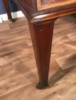 George III Style Mahogany Partners Library Table (12 of 14)