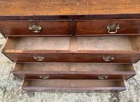 Antique Oak Chest of Drawers with Crossbanded Edge (14 of 17)