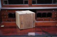 Superb Quality 18th Century Mahogany Bureau Bookcase (5 of 23)