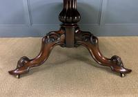 Victorian Round Rosewood Loo Table (11 of 17)