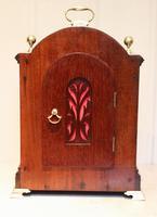 Mahogany and Inlay Bracket Clock (11 of 13)