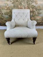 Beautifully Shaped English Armchair (4 of 6)