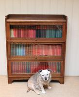 1920s Oak Stacking Bookcase (7 of 9)