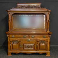 Late Victorian Mahogany Sideboard (2 of 19)