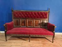 Rosewood Georgian Bench Settle 18th C (2 of 12)