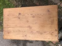 Antique Pine Travelling Box (3 of 6)