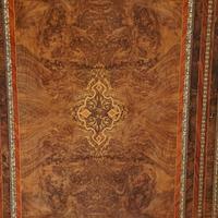 Victorian Inlaid Walnut Side Cabinet (16 of 17)