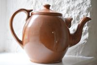 Large Late 19th Century Stoneware Teapot (5 of 9)