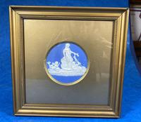 Victorian  Framed Wedgwood Panel of Goddess with her Cherub Child (2 of 4)