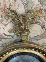 Stunning English Regency Convex Mirror With Eagle (3 of 6)