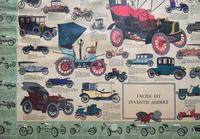 Intriguing Very Large 1960s Oak Framed Vintage Car Automotive Lithograph Poster (6 of 13)