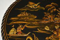 Antique Lacquered Chinoiserie Occasional Table (7 of 12)