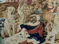 Large Beautiful Framed Original 19thc German Berlin Needlework Tapestry Picture (8 of 15)